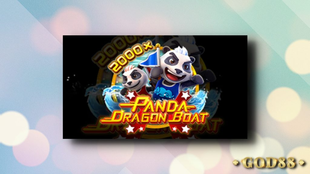 Panda Dragon Boat